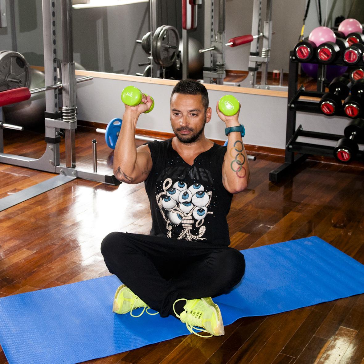 3   Άσκηση Πρώτη για χέρια και στήθος Μέρος Δεύτερο