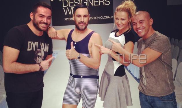 Ο Χρήστος Νέζος σε ρόλο μοντέλου! Backstage φωτογραφίες | tlife.gr