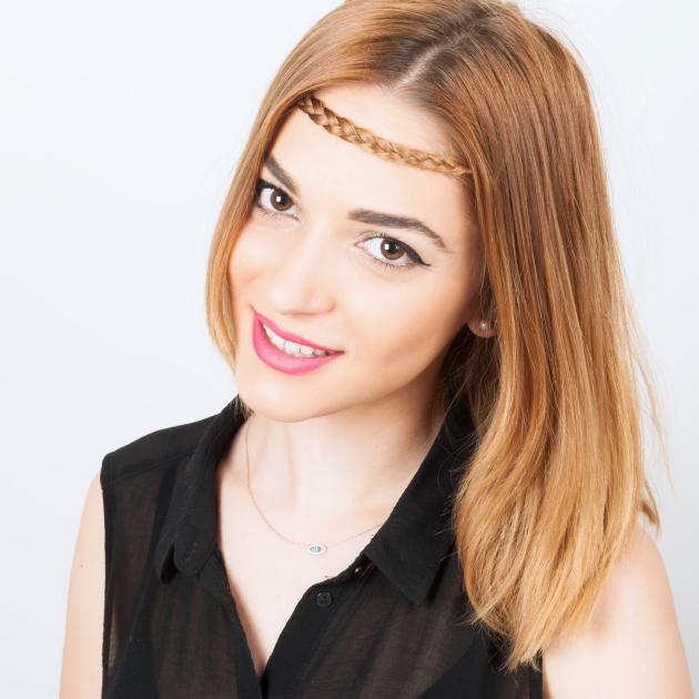 13 | Χτένισμα no 3: sleek με headband