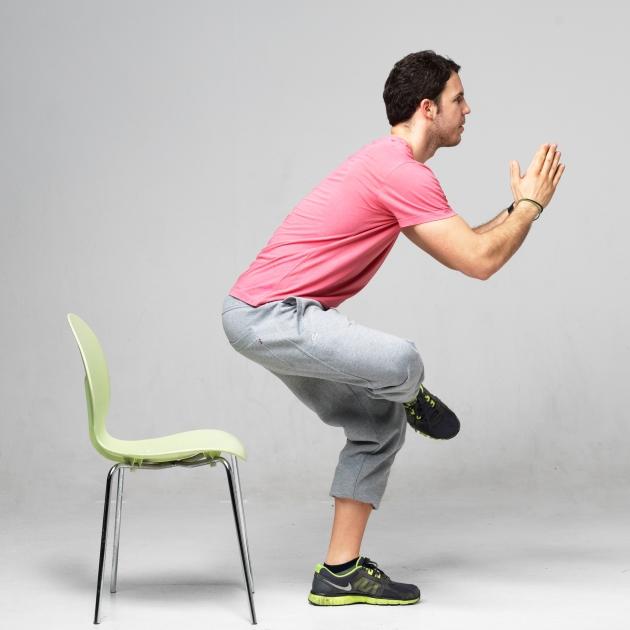 5 | Άρση από καρέκλα με το πόδι σταυρωμένο Μέρος Δεύτερο