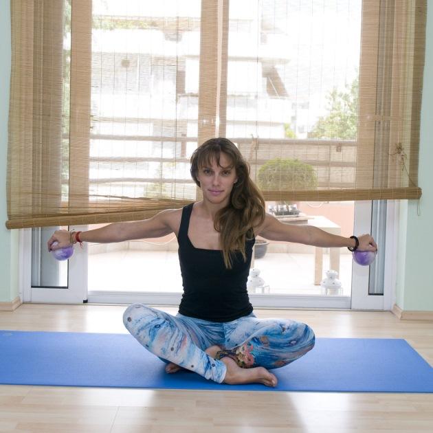 5 | Κυκλάκια με yoga balls