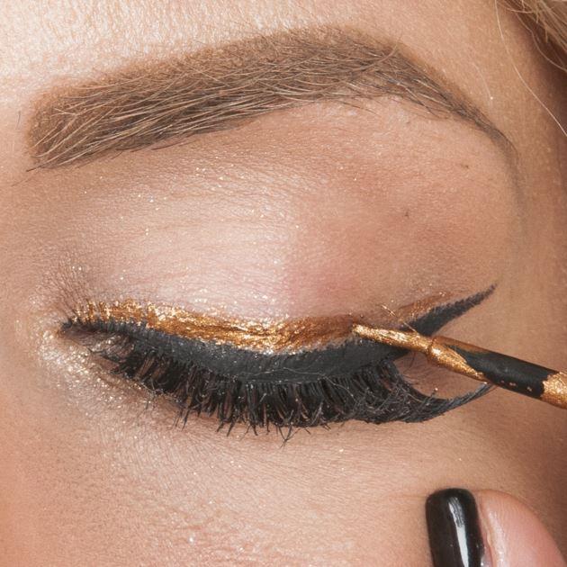 12 | Τέταρτος τρόπος σαν eyeliner: βήμα 1