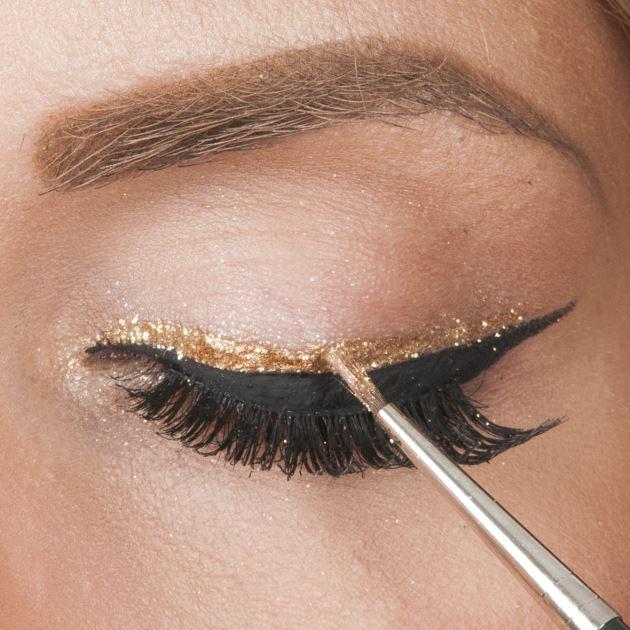 13 | Τέταρτος τρόπος σαν eyeliner: βήμα 2
