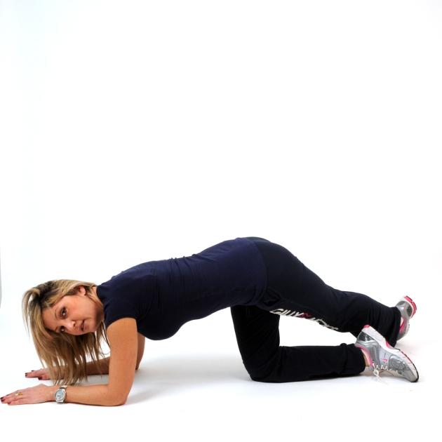 5   Εναλλακτική για γλουτούς με το πόδι τεντωμένο Μέρος Δεύτερο