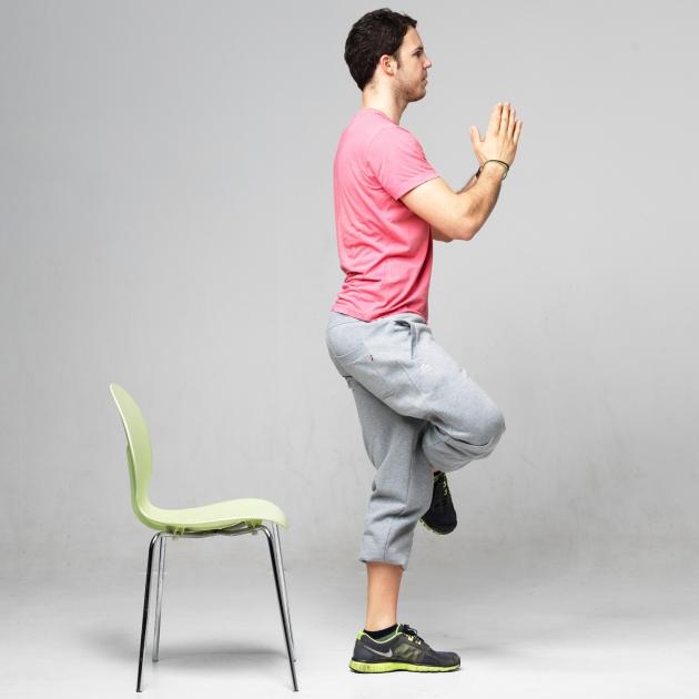 6 | Άρση από καρέκλα με το πόδι σταυρωμένο Μέρος Τρίτο