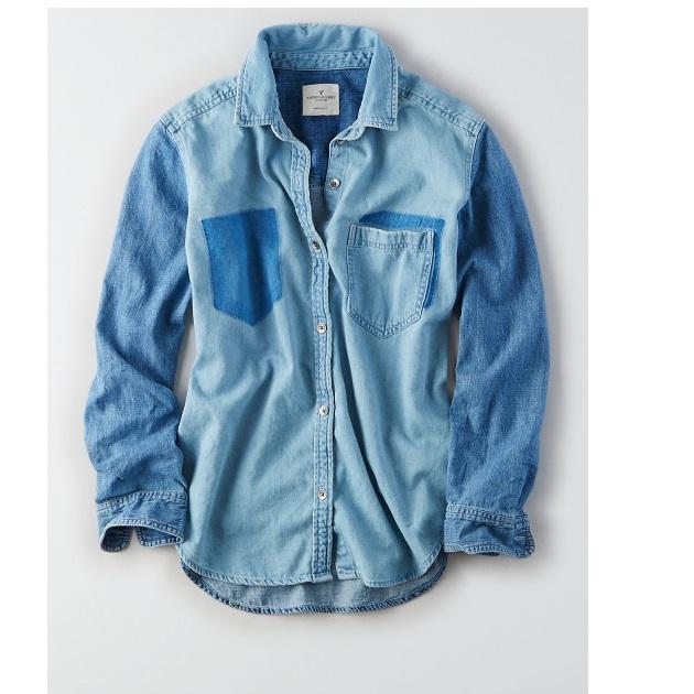6   Jean πουκάμισο American Eagle