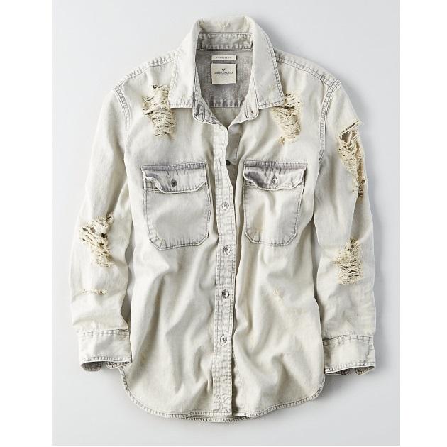 5   Jean πουκάμισο American Eagle
