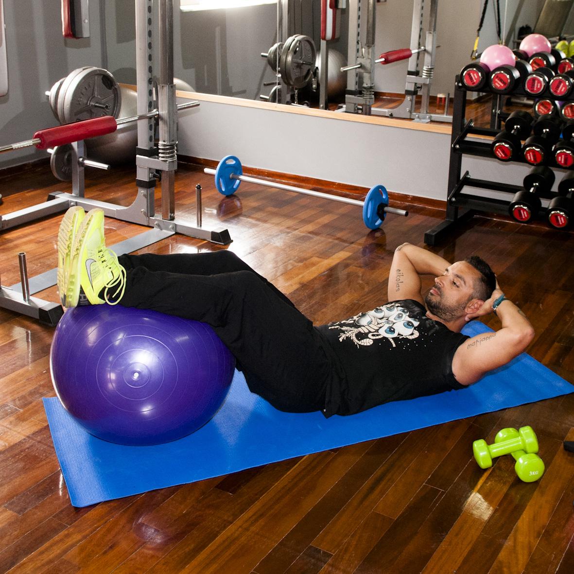 6   Άσκηση Πρώτη για κοιλιά και πόδια Μέρος Πρώτο
