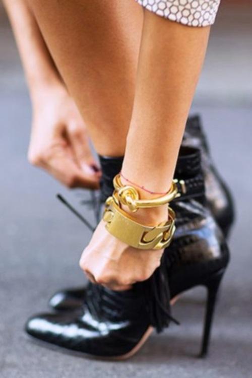 4 | Φόρεσε ένα chunky bracelet!