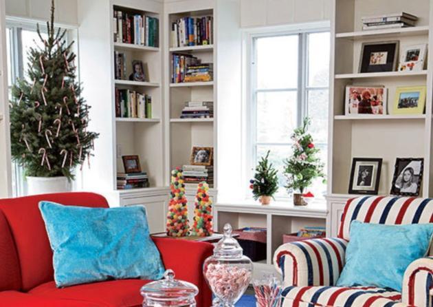 """""""Χρωματιστές"""" ιδέες για να στολίσεις χριστουγεννιάτικα το σαλόνι σου!"""