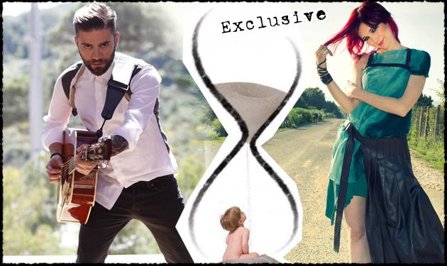 bbcf5849691 Το ντουέτο του Θοδωρή Μαραντίνη με την γνωστή Ιταλίδα τραγουδίστρια! Άκουσέ  το unplugged στο TLIFE
