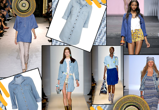 To jean πουκάμισο εκδικείται! Η μόδα το επιβάλλει περισσότερο από ποτέ… | tlife.gr