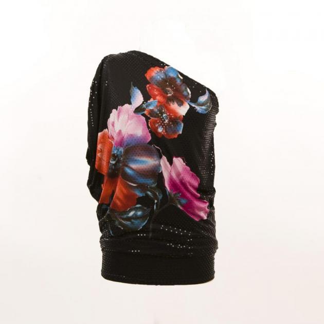 3 | Μαύρο έξωμο φόρεμα if-ganas
