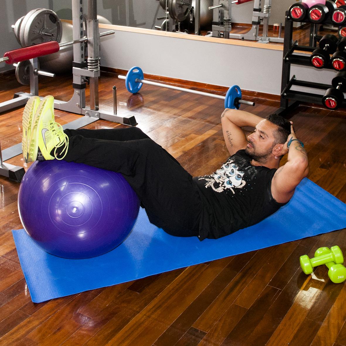 7   Άσκηση Πρώτη για κοιλιά και πόδια Μέρος Δεύτερο