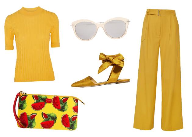Αποχρώσεις του κίτρινου: Ρούχα και αξεσουάρ στο πιο hot χρώμα της σεζόν