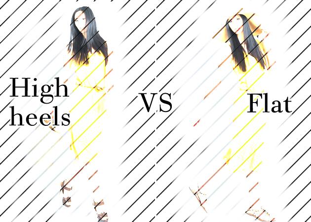 Ψηλοτάκουνα VS φλατ! Τι αλλάζει σε ένα look όταν αλλάξεις παπούτσια; | tlife.gr