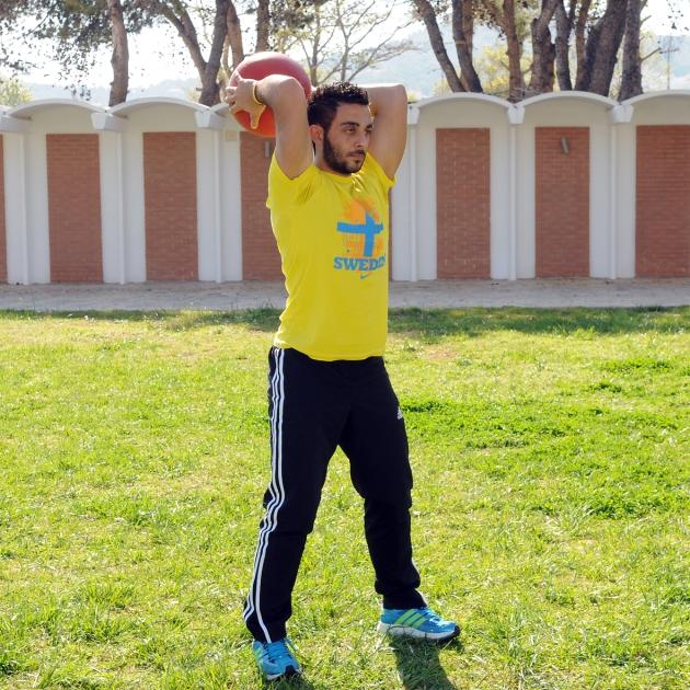9 | Άσκηση τρικεφάλων με μπάλα Μέρος Πρώτο