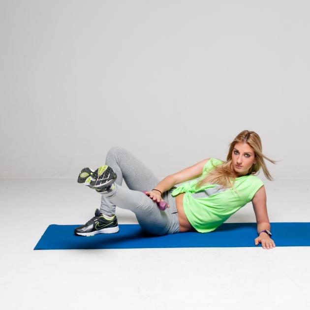 8 | Συνδυαστική άσκηση για γλουτούς & εσωτερικό μηρών Μέρος Πρώτο