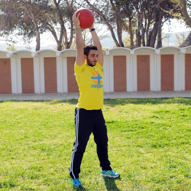 10 | Άσκηση τρικεφάλων με μπάλα Μέρος Δεύτερο
