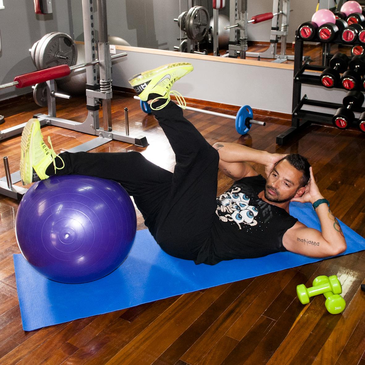 9   Άσκηση Δεύτερη για κοιλιά και πόδια Μέρος Δεύτερο