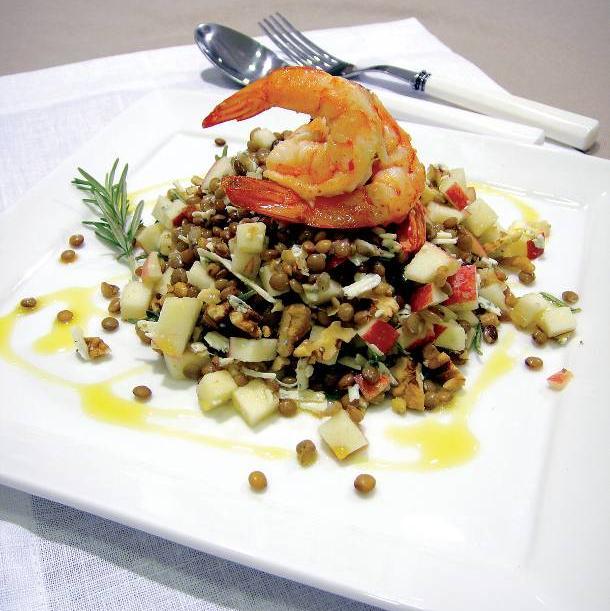 Γαρίδες σαλάτα