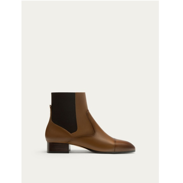 3   Booties Μassimo Dutti