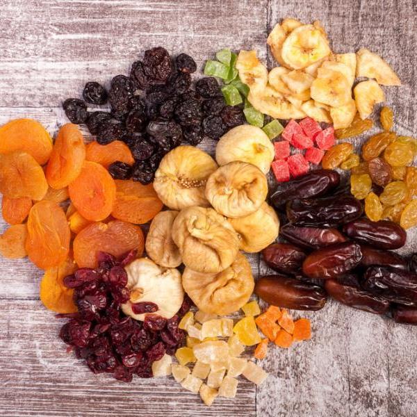 4 | Αποξηραμένα φρούτα