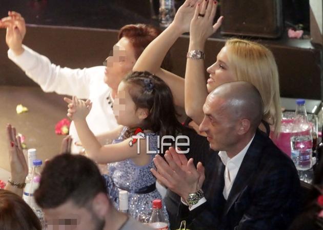 Έλενα Ασημακοπούλου: Με τον Τσιρίλο και την κόρη τους στα μπουζούκια! Φωτογραφίες