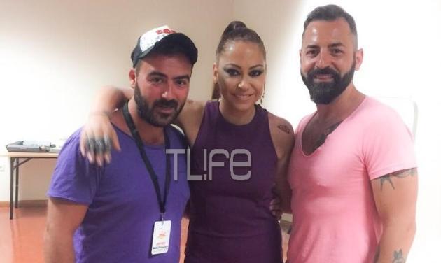 MAD VMA 2015: Στο καμαρίνι της Μελίνας Ασλανίδου! Φωτογραφίες
