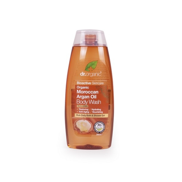 7 | dr.organic Organic Moroccan Argan Oil Body Wash