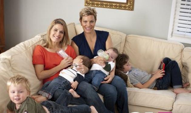 Η ομοφυλόφιλη Ελληνίδα σεφ με τους τέσσερις γιους! | tlife.gr