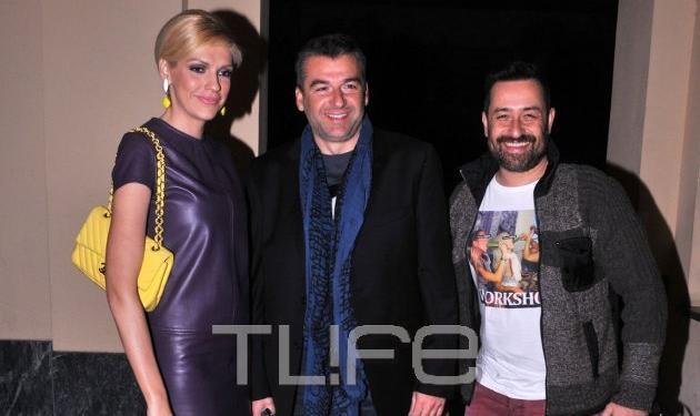 Γ. Λιάγκας: Στο θέατρο με τους συνεργάτες της εκπομπής αλλά χωρίς τη Φαίη! | tlife.gr