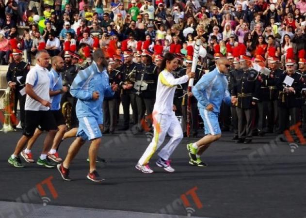 Ολυμπιακοί Αγώνες 2016: H Ολυμπιακή Φλόγα ξεκίνησε το παγκόσμιο ταξίδι της