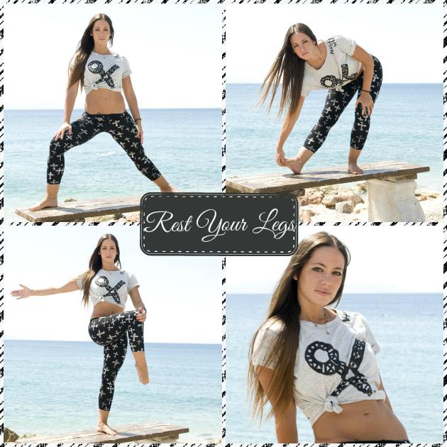 1 | Ξεκούρασε τα πόδια σου! ΔΙατάσεις και ασκήσεις από τη Μάντη Περσάκη για να χαλαρώσεις...