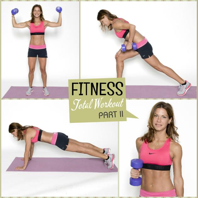1 | Full Body Workout! 30' λεπτά γυμναστική για να γυμνάσεις το σώμα από την κορυφή ως τα νύχια Part II