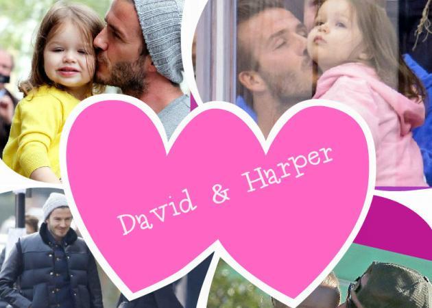 Γιορτή του πατέρα: Ο πιο τρυφερός, διάσημος μπαμπάς είναι ο David Beckham! Δες τις φωτογραφίες με την κόρη του Harper! | tlife.gr