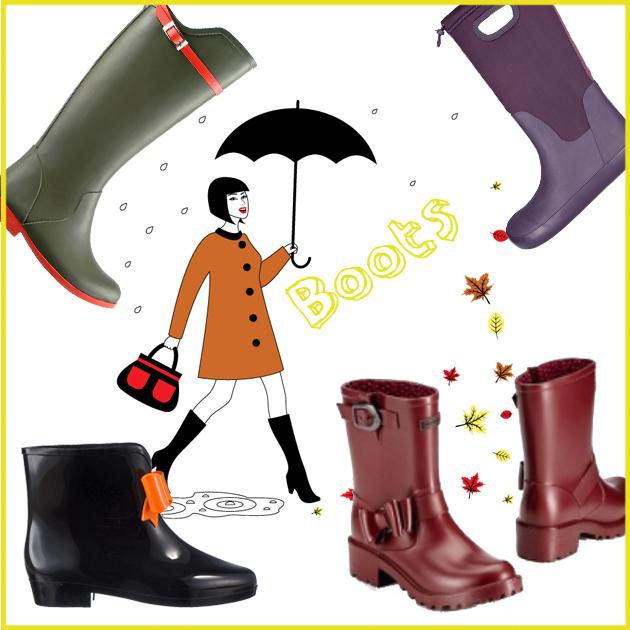 1 | Γαλότσες για την βροχή