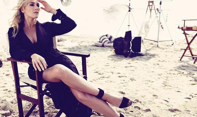 "Kate Winslet: ""Αδυνάτισε"" ξαφνικά σε εξώφυλλο περιοδικού, προκαλώντας σχόλια!"