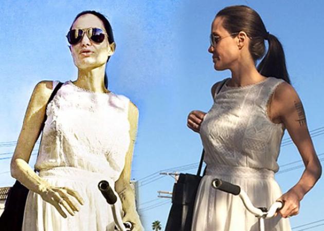 Angelina Jolie: Ανησυχία για την αποστεωμένη εμφάνισή της – Φωτογραφίες