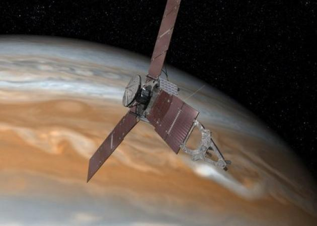 Διαστημόπλοιο Τζούνο: Το σκάφος της NASA αρχίζει την ερευνητική αποστολή στον πλανήτη Δία