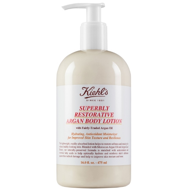 10 | Kiehl's Superbly Restorative Argan Body Lotion