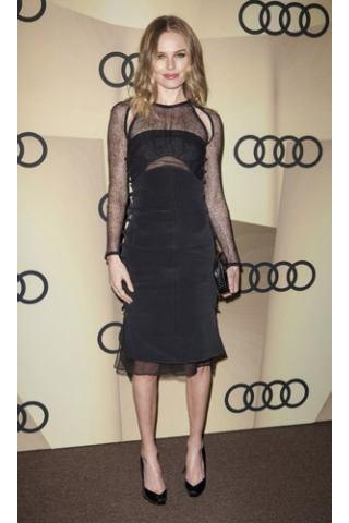 H Kate Bosworth με φόρεμα με διαφάνεια