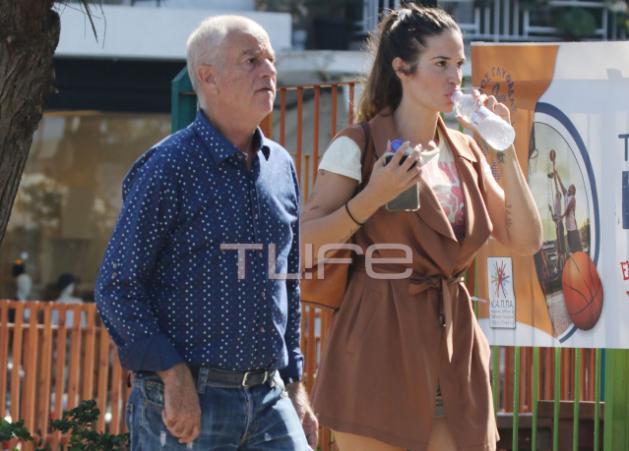 Εύα Λάσκαρη: Η βόλτα με τον πατέρα της και το πραγματικό της επώνυμο!