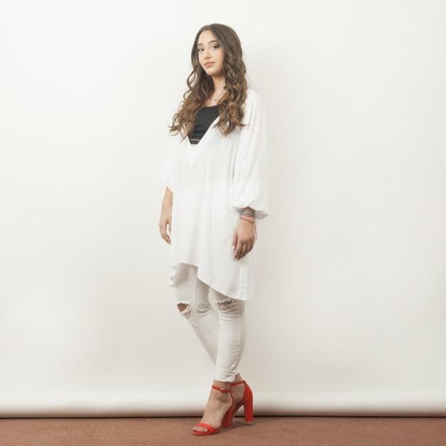 6 | To λευκό jean