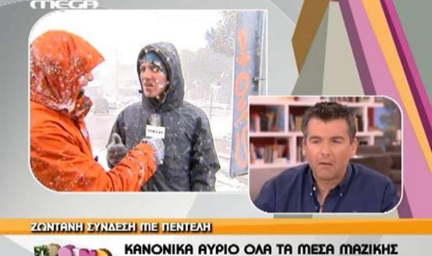 Ουπς! Πάλι του ξέφυγε κακιά κουβέντα του Λιάγκα στον αέρα! Δες το βίντεο | tlife.gr