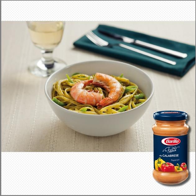 Linguine με Barilla Pesto alla Genovese