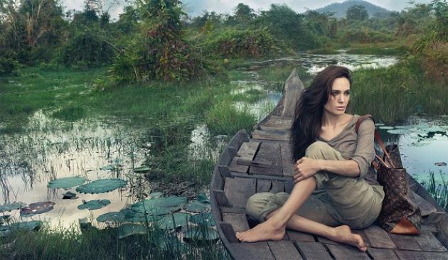 H πρώτη φωτογραφία της Angelina Jolie για τη Louis Vuitton | tlife.gr