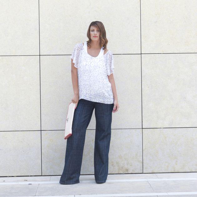 6   Η τζιν παντελόνα φορεμένη λάθος