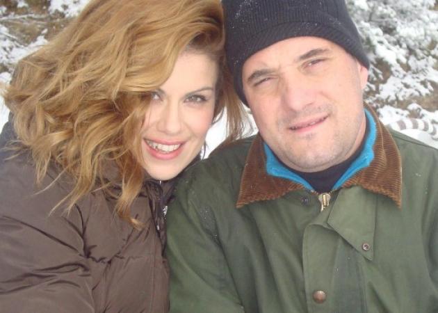 Ευγενία Μανωλίδου – Άδωνις Γεωργιάδης: Αγκαλιά στα χιόνια! [pic] | tlife.gr