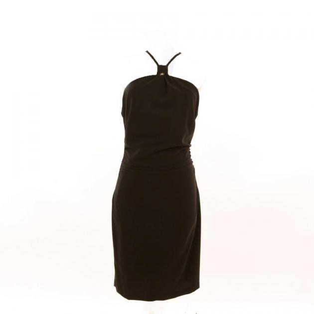 15 | Μαύρο μίντι φόρεμα Celyn B